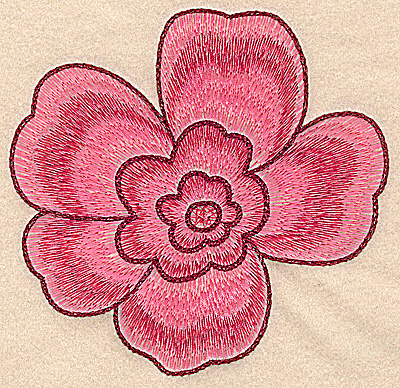 Embroidery Design: Blossom large 5.12w X 5.00h