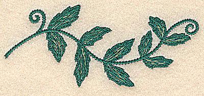 Embroidery Design: Vine small 3.90w X 1.67h