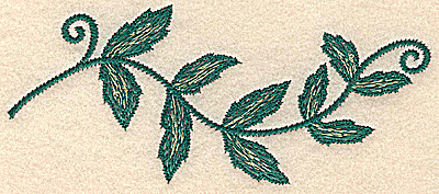 Embroidery Design: Vine medium 5.84w X 2.50h