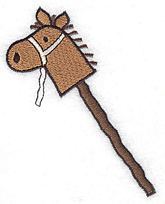 Embroidery Design: Toy horse large 3.27w X 3.88h
