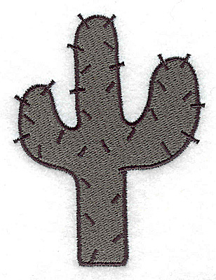 Embroidery Design: Cactus large 2.67w X 3.51h