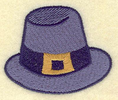 Embroidery Design: Pilgrim hat 2.56w X 2.12h