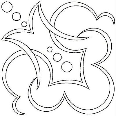 Embroidery Design: Design A small4.78w X 4.78h