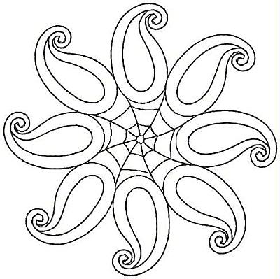 Embroidery Design: Design C small4.79w X 4.80h