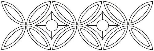 Embroidery Design: Design D small6.93w X 2.24h