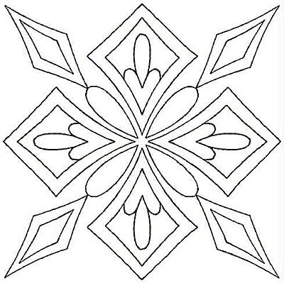 Embroidery Design: Design H small4.81w X 4.81h