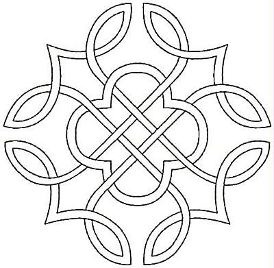 Embroidery Design: Design J small 5.00w X 4.90h