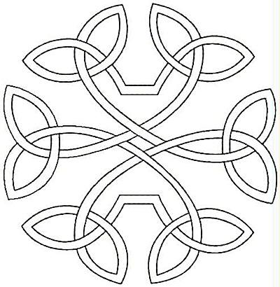 Embroidery Design: Design K small4.86w X 5.00h