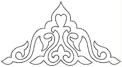 Embroidery Design: Design M small4.99w X 2.68h