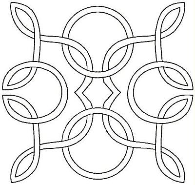 Embroidery Design: Desiqn Q small4.96w x 4.70h