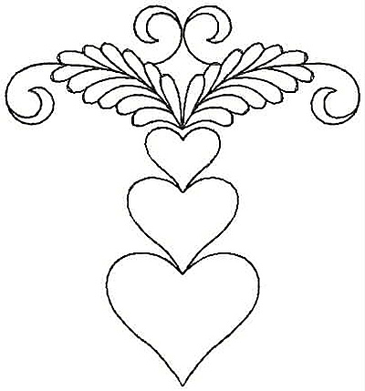 Embroidery Design: Design 5A3.96w X 4.27h
