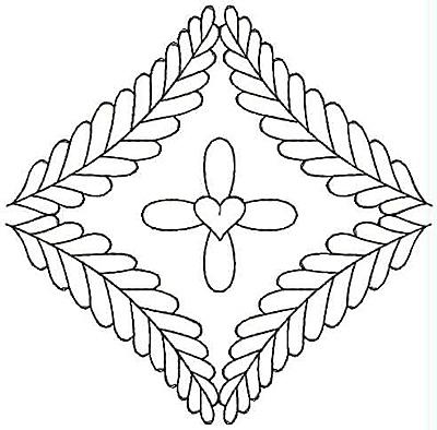 Embroidery Design: Design 13A4.85w X 4.76h