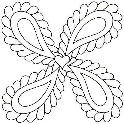 Embroidery Design: Design 23A4.80w X 4.79h