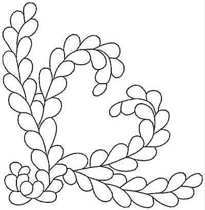 Embroidery Design: Design 40A4.87w X 5.00h