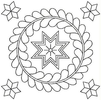 Embroidery Design: Design 42A4.96w X 4.94h