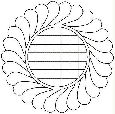 Embroidery Design: Design 43A4.99w X 4.98h
