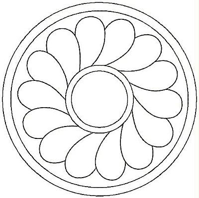 Embroidery Design: Design 45A4.99w X 4.99h