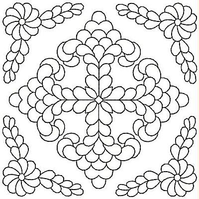 Embroidery Design: Design 46A4.98w X 4.99h