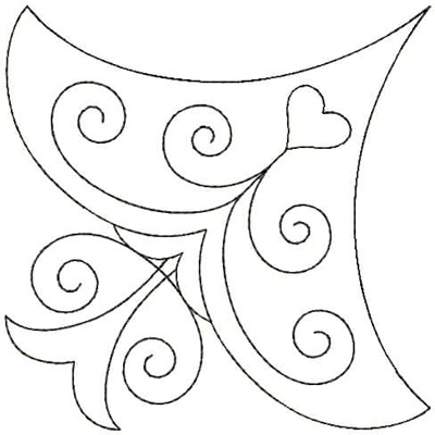 Embroidery Design: QDesign 3A 4.75w X 4.75h