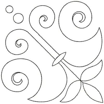 Embroidery Design: QDesign 6A 4.75w X 4.75h