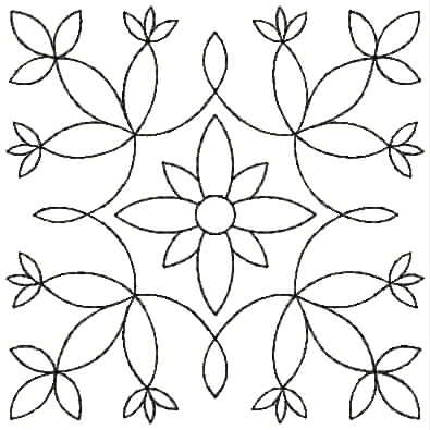 Embroidery Design: QDesign 7A 3.81w X 3.81h