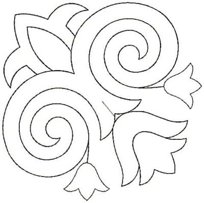 Embroidery Design: QDesign 9A 4.62w X 4.62h