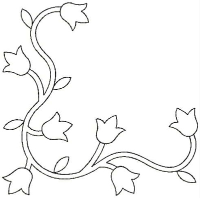 Embroidery Design: QDesign 10A 4.75w X 4.75h