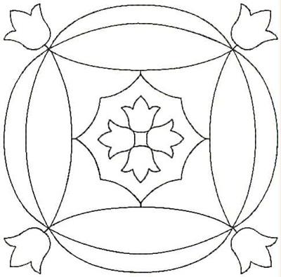 Embroidery Design: QDesign 15A 4.68w X 4.68h