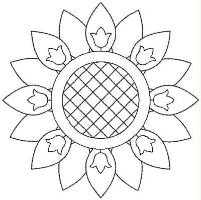 Embroidery Design: QDesign 17A 4.75w X 4.75h