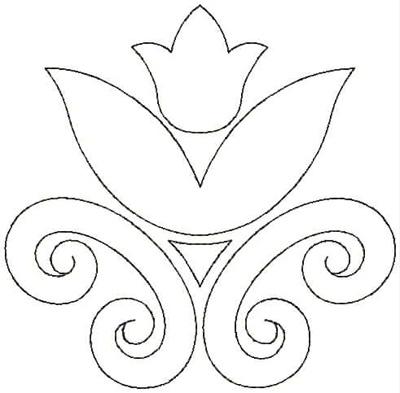 Embroidery Design: QDesign 18A 4.75w X 4.68h
