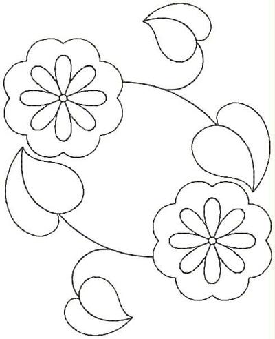 Embroidery Design: QDesign 24A 4.75w X 5.87h