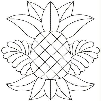 Embroidery Design: QDesign 25A 4.75w X 4.75h