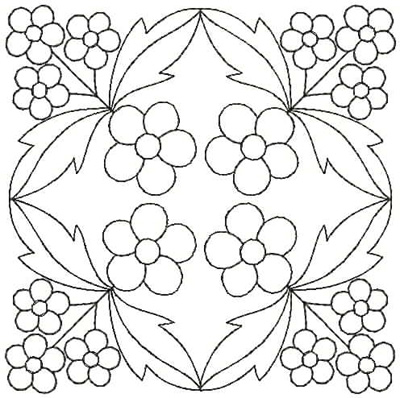 Embroidery Design: QDesign 27A 4.81w X 4.81h