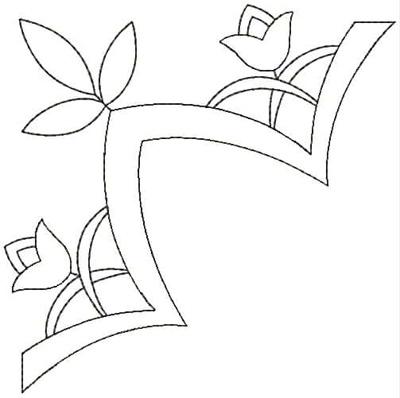 Embroidery Design: QDesign 29A 4.87w X 4.87h
