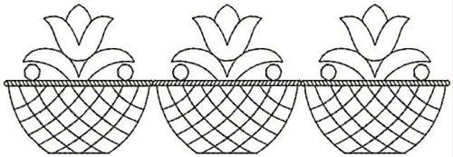 Embroidery Design: QDesign 38A 6.25w X 2.06h