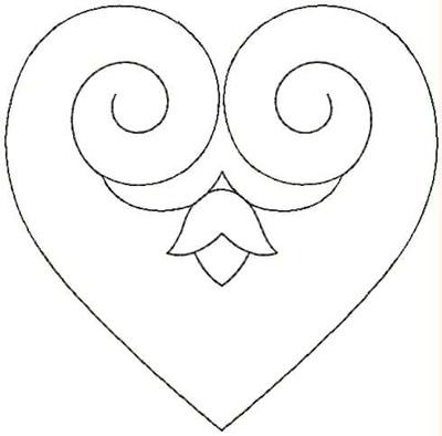 Embroidery Design: QDesign 41A 4.75w X 4.68h