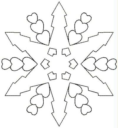 Embroidery Design: QDesign 43A 4.5w X 4.87h