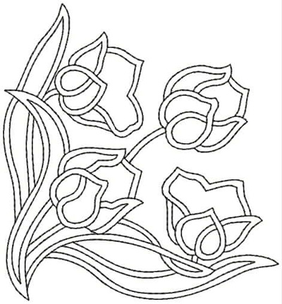 Embroidery Design: QDesign 45A 4.56w X 4.93h