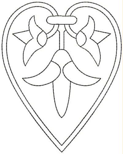 Embroidery Design: QDesign 47A 3.87w X 4.93h