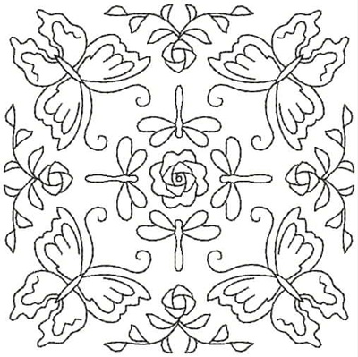 Embroidery Design: QDesign 50A 4.93w X 4.93h