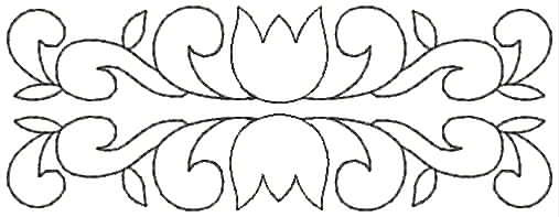 Embroidery Design: QDesign 53A 4.93w X 1.81h