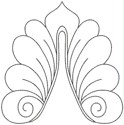 Embroidery Design: QDesign 55A 4.87w X 4.93h