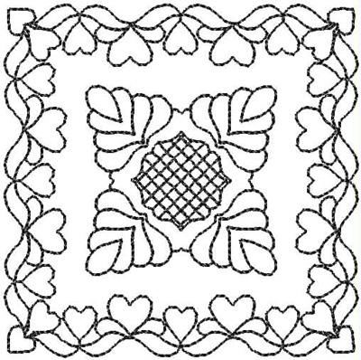 Embroidery Design: QDesign 56A 4.93w X 4.93h