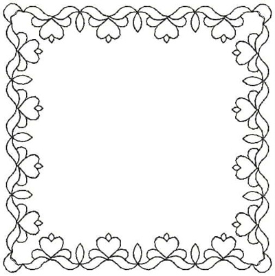 Embroidery Design: QDesign 57A 4.87w X 4.93h