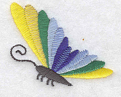 Embroidery Design: Butterfly A  2.06w X 1.69h