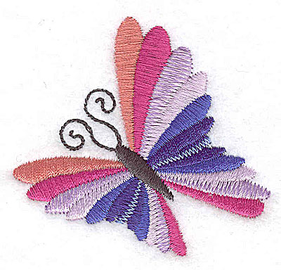 Embroidery Design: Butterfly B 2.55w X 2.39h