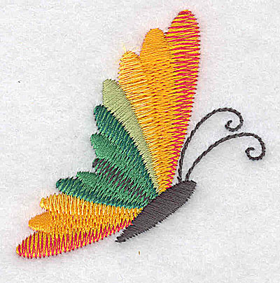 Embroidery Design: Butterfly C 2.30w X 2.32h
