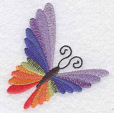 Embroidery Design: Butterfly E 2.70w X 2.84h