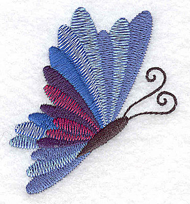 Embroidery Design: Butterfly F 2.36w X 2.66h