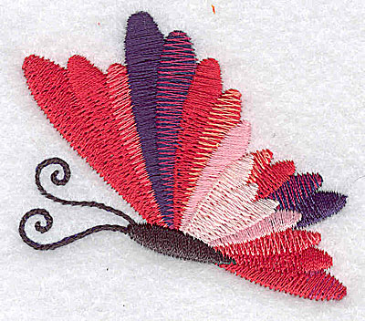 Embroidery Design: Butterfly G 2.49w X 2.23h